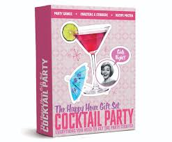 the happy hour gift set cocktail party unique creative