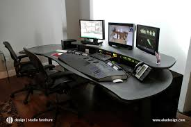 Recording Studio Desk Design by Edit Suite Aka Design Furniture Home Office Desk Work Space