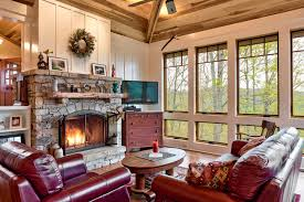 interior pictures of log homes guide to window treatments for log homes