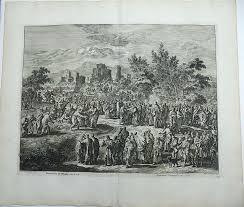 Christ Healing The Blind Jan Luyken 1649 1712 Christ Heals The Blind Bartmeus De