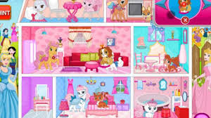 princess home decoration games big house clean up girl games