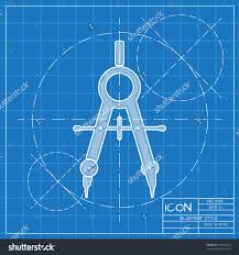 Home Design Engineer Vector Blueprint Compasses Icon Engineer And Architect Save To A