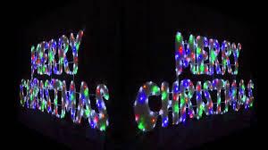led merry christmas light sign superb merry christmas light up sign white led xs1685 youtube