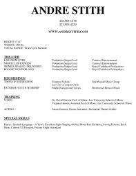 music resume samples music resume sample resume genius music