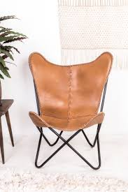 leather butterfly chair tan brown leather butterfly chair u2013 ian snow ltd