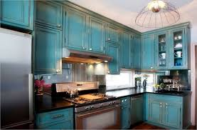 distressed kitchen furniture color blue distressed kitchen cabinets loccie better homes