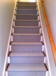 Rug For Stairs Steps Waterfall Vs Hollywood Stair Installation Colony Rug Provider