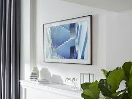 How To Make A Tv Wall Mount The Frame Samsung U0027s New 4k Tv Transforms Into Wall Art The