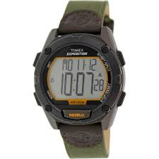 timex expedition compass watch amazon black friday timex men u0027s expedition t49947 green leather quartz watch