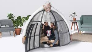 kfc u0027s shield protects you 100 against the holidays