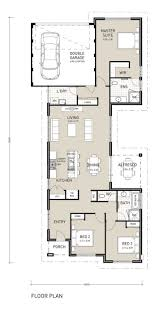 home design for narrow land home design projects inspiration single storey house plans for