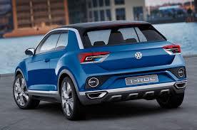volkswagen t roc reported to arrive in u s in 2019 automobile