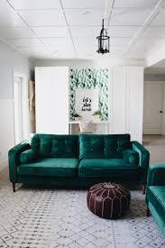 Living Room Design Green Couch Best 25 Velvet Couch Ideas On Pinterest Velvet Sofa Green Sofa