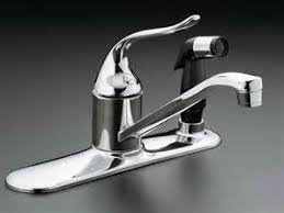 fix kitchen faucet leak kitchen