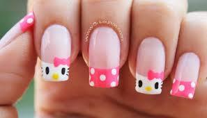 imagenes uñas para decorar cómo decorar tus uñas con hello kitty tutorial