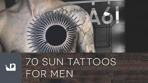 70 sun tattoos for