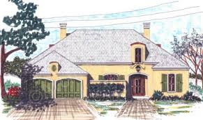 Cottage Plan by Seville Courtyard House Plan Ranch Floor Plan