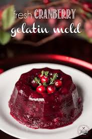 fresh cranberry gelatin mold self proclaimed foodie