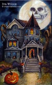 29 best halloween watercolors u0026 paintings by iva wilcox images on