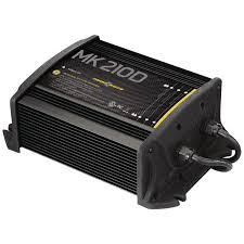 amazon com minnkota mk 210d on board battery charger 2 banks 5