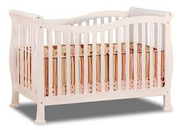 Rockland Convertible Crib by Amazon Com Athena Nadia 3 In 1 Crib With Toddler Rail White