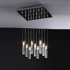 modern chandelier light fixtures with contemporary rectangular