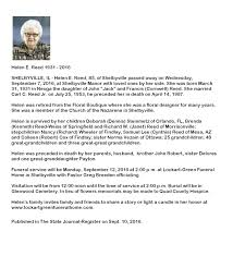 Burial Invitation Card Search Chatham Area Public Library Obituary Database Chatham