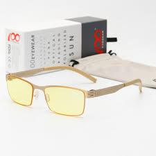 glasses that block fluorescent lights anti blue light blocking filter reduces digital eye strain clear