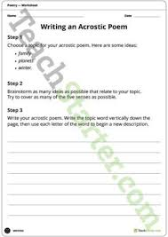 poetry resource collection u2013 teach starter