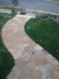 8 flagstone and slate walkway ideas flagstone walkway flagstone desert bronze flagstone walkway