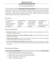 Job Resume Objective Restaurant by Marketing Resume Example Entry Level Contegri Com