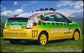 jurassic park car jurassic park prius revealed photo jurassic park origins
