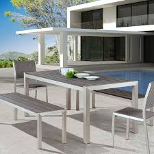 contemporary outdoor dining table outdoorlivingdecor