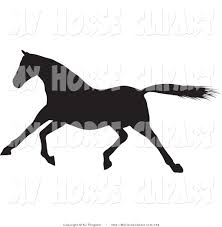 royalty free stock horse designs of design elements