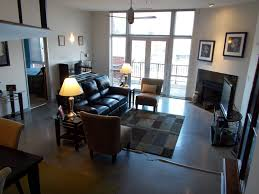 Living Room Sets Cleveland Ohio Cleveland Penthouse Offers Modern Open Interior And Great Views