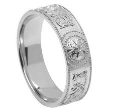 celtic wedding ring gents celtic warrior silver wedding band celtic wedding rings