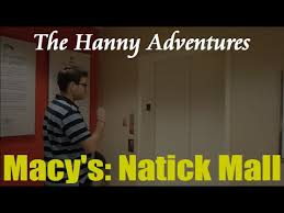 the hanny adventures macy s natick mall