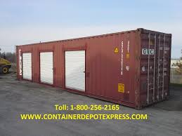 used steel storage containers 20ft and 40ft for rent or sale