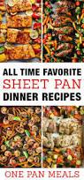 Easy Chicken Dinner Ideas For Family Favorite Sheet Pan Dinner Recipes Easy One Pan Meals