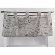 French Door Valances Tab Top Window Treatments Shop The Best Deals For Nov 2017