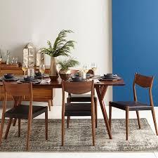 mid century walnut dining table interior dazzling mid century modern extendable dining table 10