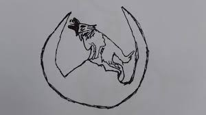 how to draw black wolf wolf drawings anime wolf drawings easy