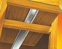 center mount drawer slides