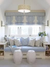 nice roman with valance above window seat elizabeth mcgann design