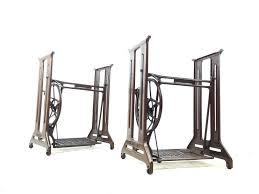 Antique Singer Sewing Machine Table Art Deco Antique Singer Sewing Machine Treadle Stand Table Garden