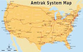 Chicago On The Map by List Of Amtrak Routes Wikipedia