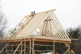 How To Pole Building Construction by Barn Roof Construction How To Build Roof