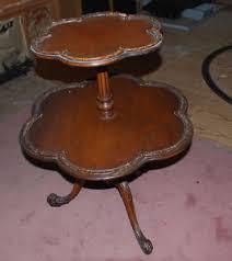 pie crust end table pie crust table ebay