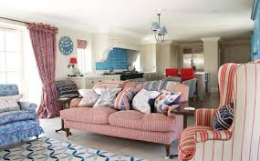 How To Use Accent Chairs Attractive Red And White Living Room Interior Designs