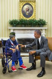 the oldest living veteran meets the president whitehouse gov